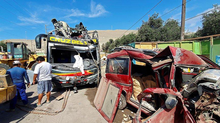Peru'da katliam gibi kaza!