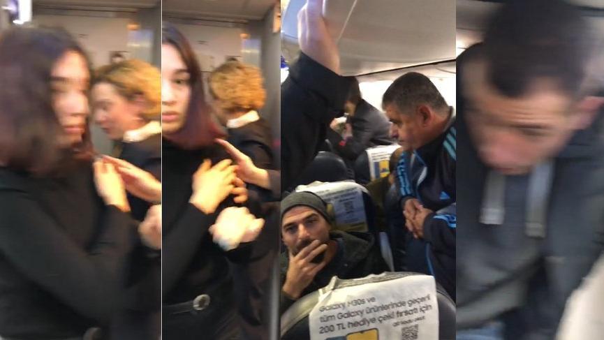Yolcu uçağı pistten çıktı, yolcular büyük panik yaşadı