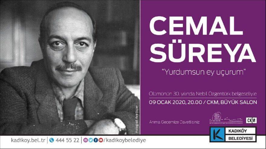 Cemal Süreya ölümünün 30. yılında Kadıköy'de anılıyor