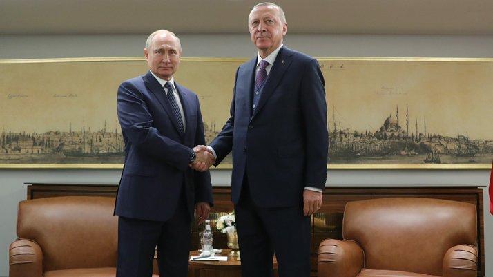 Erdoğan ile Putin zirvesi sona erdi