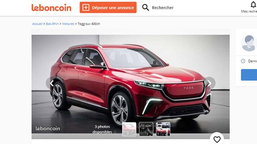 Yerli otomobil çakma ilanla satışa çıktı!