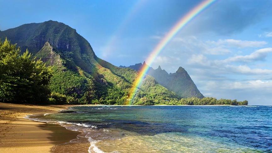 Hawaii'nin cennet adası Kauai