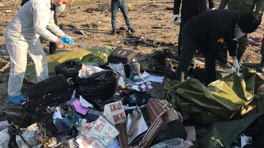İran'da uçak kazası! 176 kişi taşıyan yolcu uçağı düştü! Maalesef...