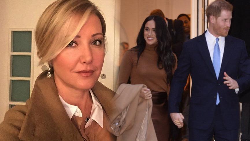 Berna Laçin, kraliyet ailesinin kıdemli üyeliğinden çekilen Prens Harry ve Meghan Markle hakkında yorumda bulundu