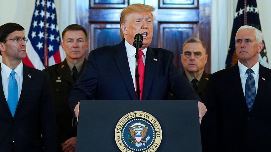 Trump'tan İran'a yeni yaptırım kararı