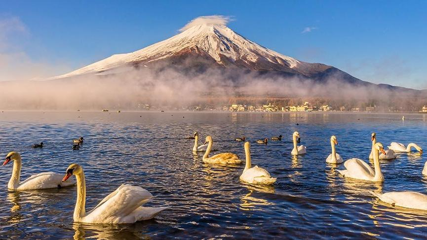 Japonya'nın simgesi Fuji Dağı