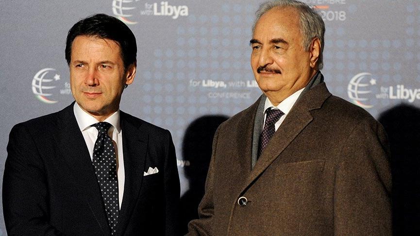 İtalya Başbakanı Conte, Hafter'in mesajını Erdoğan'a iletecek!