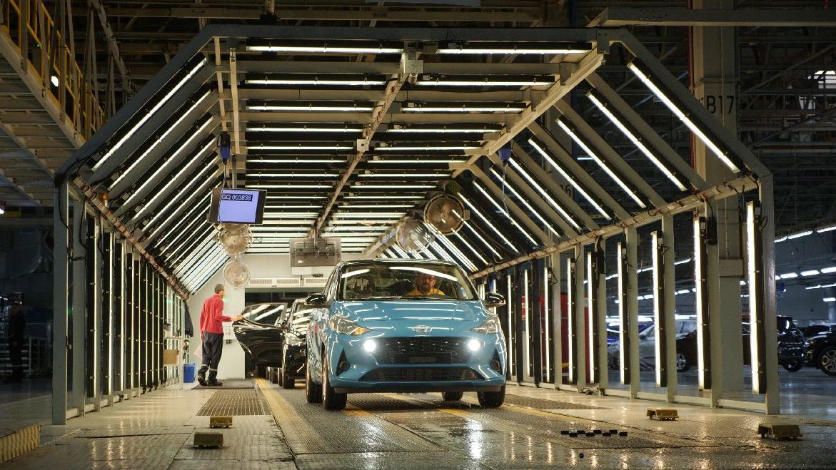 Yeni Hyundai i10 üretimi İzmit'te başladı!