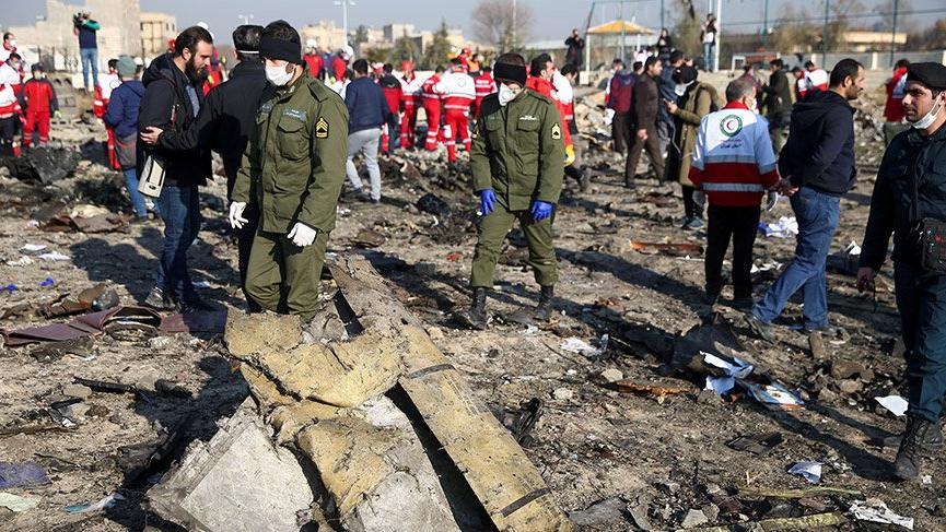 Ukrayna'dan İran'da düşen uçakla ilgili açıklama