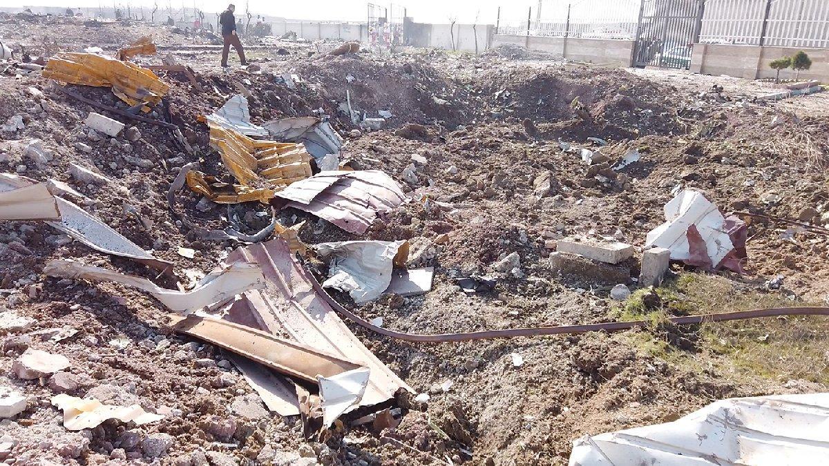 İran'ın vurduğu uçağa Ukrayna'dan ilk tepki