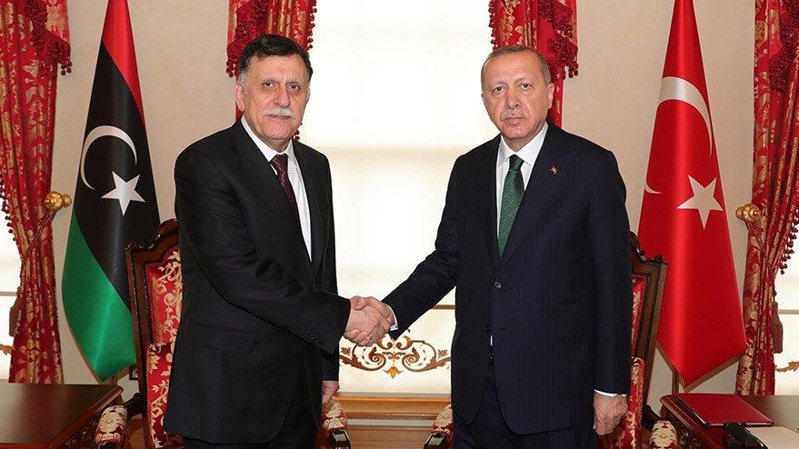 Erdoğan-Serrac görüşmesi sona erdi!