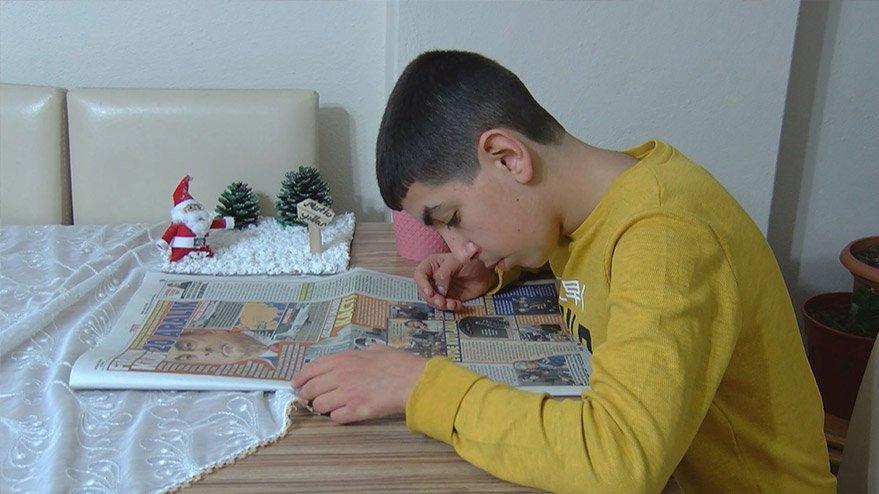 14 yaşındaki asperger sendromlu Yunus Emre, 500 yıl öncesini biliyor