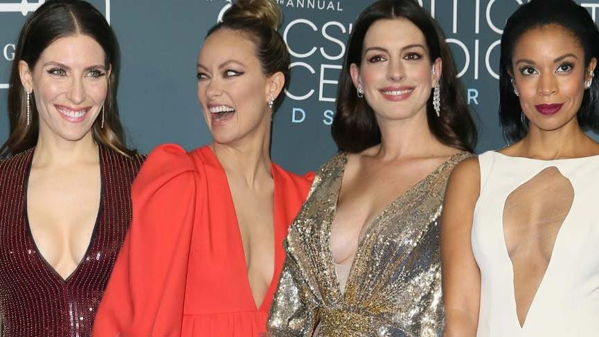 25. Critics' Choice Film Ödülleri'ne dekolteler damga vurdu