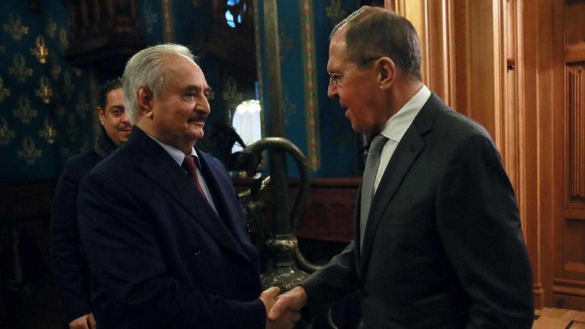 Flaş... General Hafter 'Türkiye' gerekçesiyle Moskova'yı terk etti