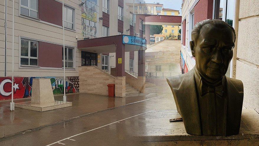 Atatürk büstüne çirkin saldırı! Saldırgan tutuklandı