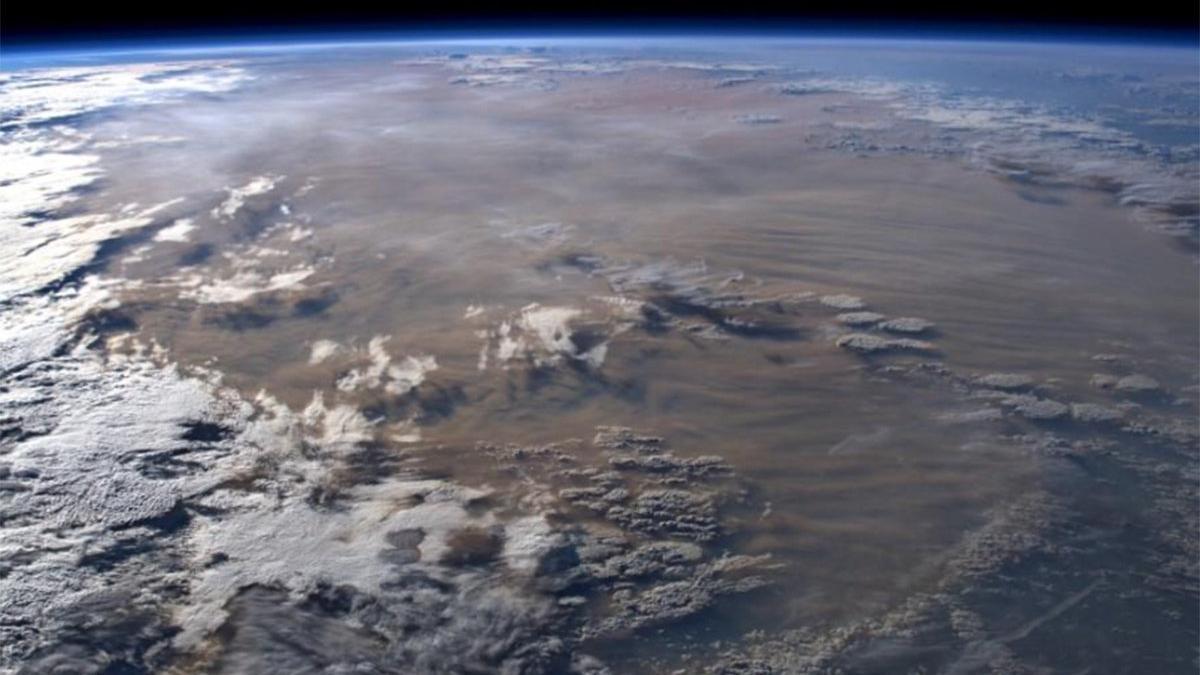 Avustralya'daki yangın felaketini astronotlar görüntüledi: Böylesini görmedik