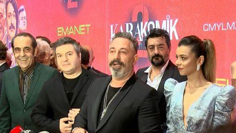 Cem Yılmaz'ın yeni filmi Karakomik Filmler 2: Deli ve Emanet'in galası yapıldı!