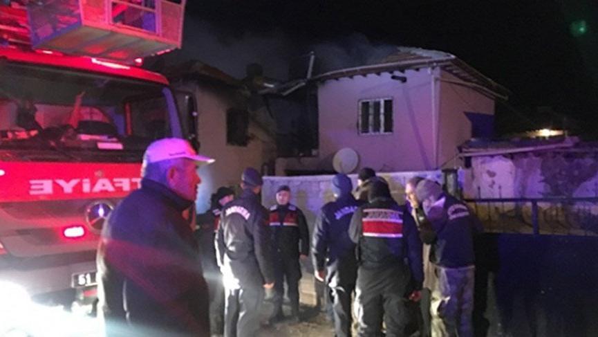 Niğde'de yangın faciası: 2 çocuk 2 de kadın öldü