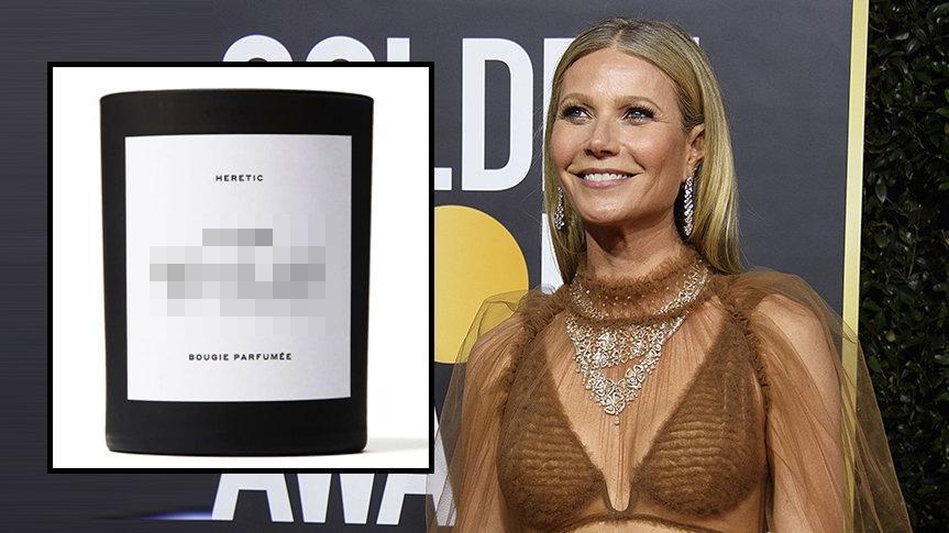 Gwyneth Paltrow cinsel organının kokusunu taşıyan mum satıyor