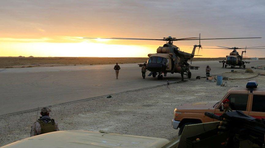 Bağdat'ta ABD askerlerinin bulunduğu üsse saldırı!