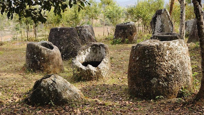 Laos'un gizemli Kavanozlar Ovası