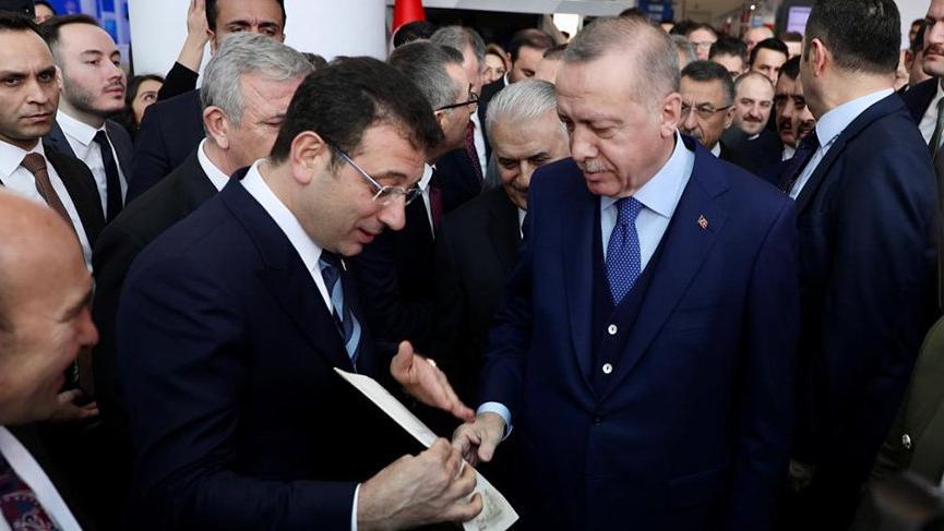 İmamoğlu'dan Erdoğan'a 4 sayfalık Kanal İstanbul mektubu
