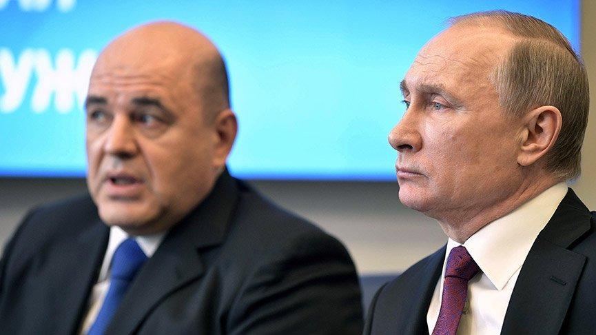 Putin başbakanlık için Mişustin'i önerdi