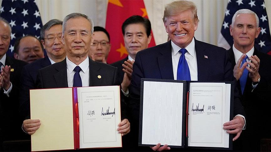 ABD ve Çin birinci fasılı imzaladı!