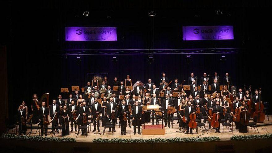 Gedik Filarmoni Orkestrası'ndan 'Nurani Bir Gece'
