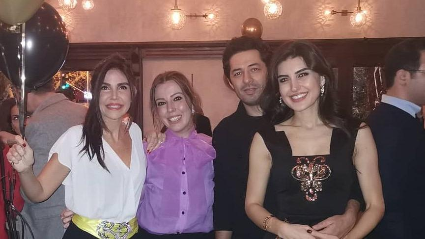İdil Fırat eşi Mert Fırat'ın doğum gününü kutladı