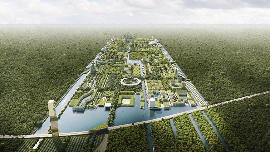 Dünyanın ilk akıllı orman şehri Meksika'da kurulacak