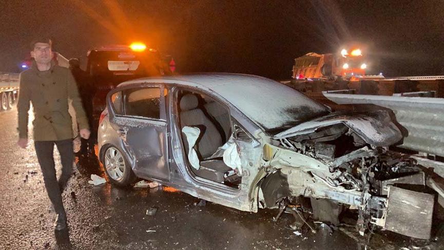 Niğde'de zincirleme kaza: 3 ölü 13 yaralı
