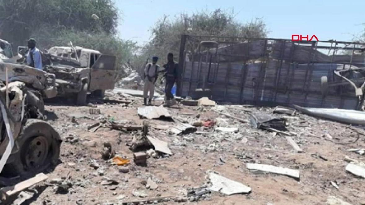 Somali'de Türklere yönelik bombalı saldırı