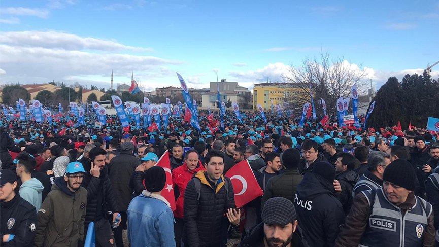 Bursa'da dev miting