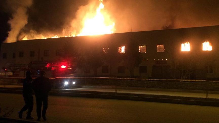 Son dakika... Tokat'ta tarihi binada yangın!