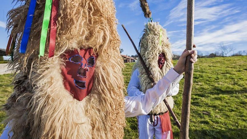 İspanyolların tuhaf festivali Sidro
