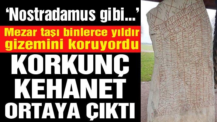 Mezar taşındaki uyarı yıllar sonra anlaşıldı