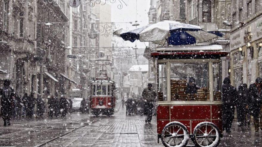 Son dakika: Meteoroloji'den İstanbul'a kar yağışı uyarısı!