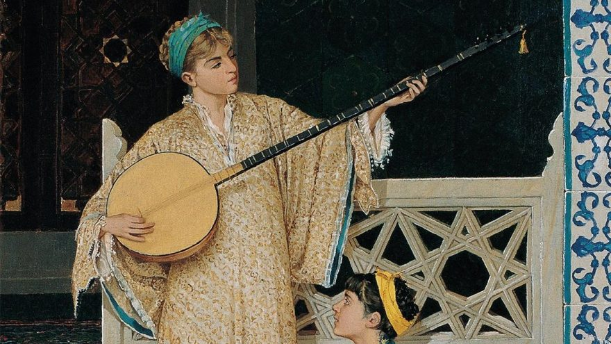 Osmanlı'daki mûsıki hayatı 'Sarayın Sesi Halkın Nefesi'nde'