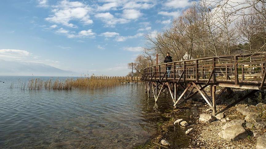 Masal diyarlarını andıran güzelliğiyle Serdivan Göl Park
