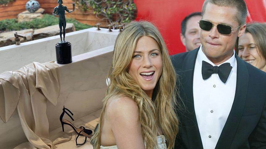 Jennifer Aniston ve Brad Pitt'in yakınlaşması sosyal medyayı etkisi altına aldı