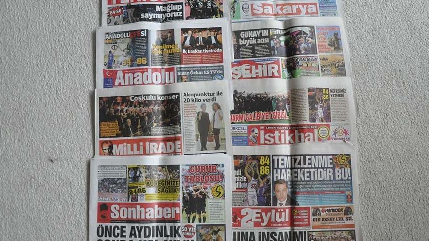Yerel gazeteler krizden çıkmak için sayfa sayılarını azalttı