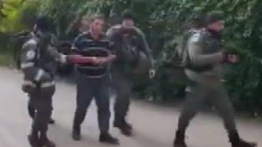 İsrail askerlerinden skandal hareket!
