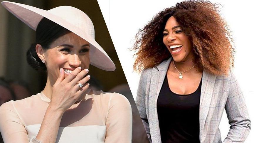 Serena Williams'tan Meghan Markle sorusuna 'İyi denemeydi' cevabı
