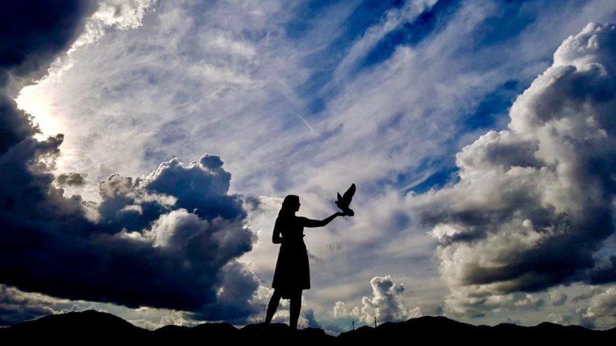 Muğla'da bulutların gizemi