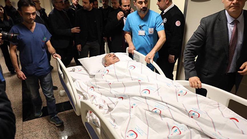 AKP Milletvekili Aydın ve eşi trafik kazası geçirdi!