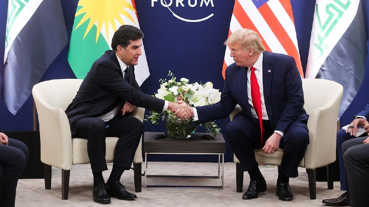 Trump yine kendini rezil etti! Barzani'yi terör örgütü lideriyle karıştırdı