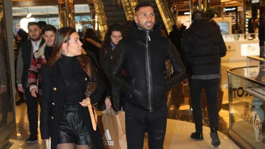Ricardo Quaresma ve eşi Daphny alışveriş yaptı