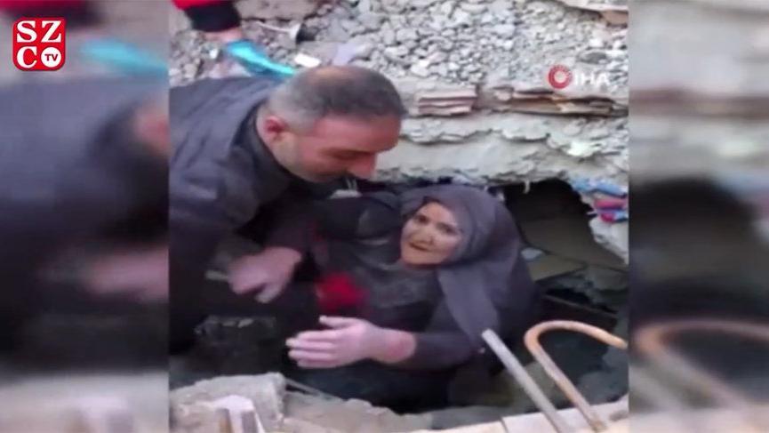 Elazığ'da 20 saat sonra bir mucize daha