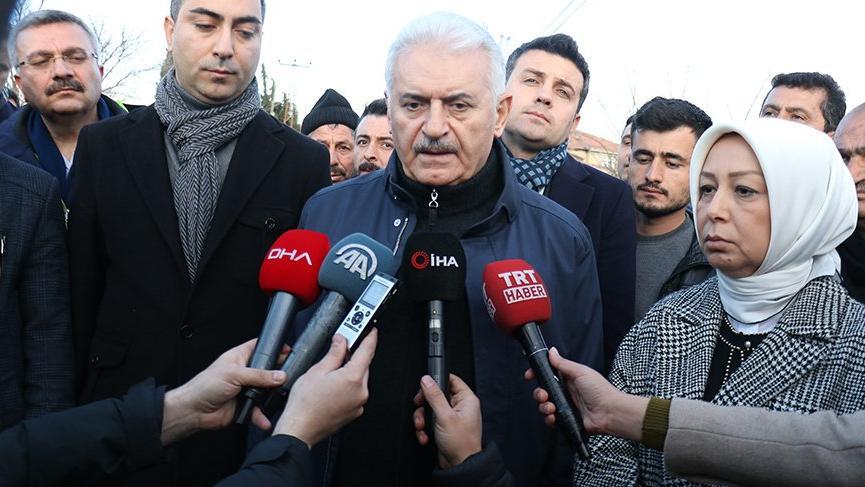 AKP'li Binali Yıldırım: Ev yaparken sadece devletin kontrolüne bırakmamak lazım